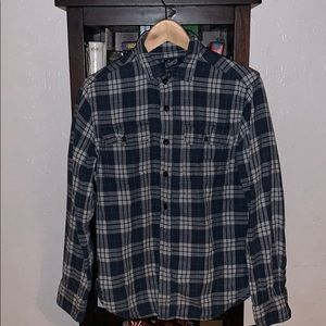 Grayers lined Flannel button up